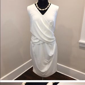 Monif C ivory dress (runs small)